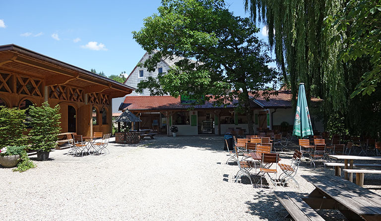 Biergarten Schlossallee In Haag An Der Amper